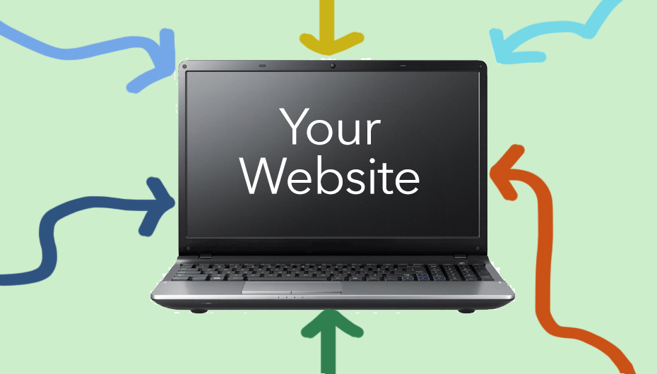 Six ways to your website